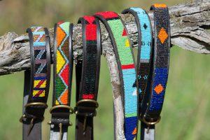 Hundhalsband, bälten & Pannband